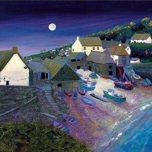 moon night village